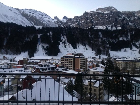 Edelweiss Engelberg : View outside our room