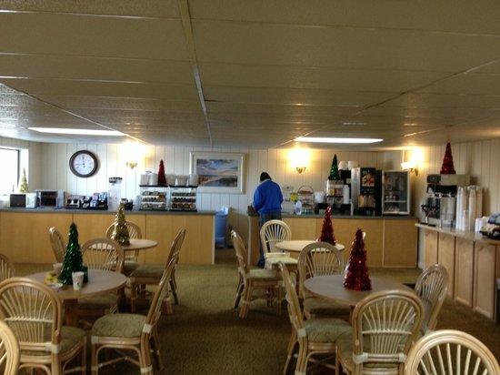 Surf Side Hotel: Breakfast area