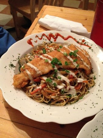 Food Dudes : Rockfish Thai noodle special - awesome