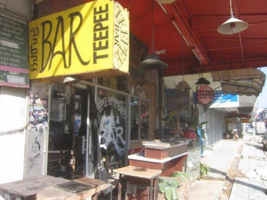 Teepee Bar: 昼間の様子2