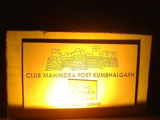 Club Mahindra Fort Kumbhalgarh: Entrance point