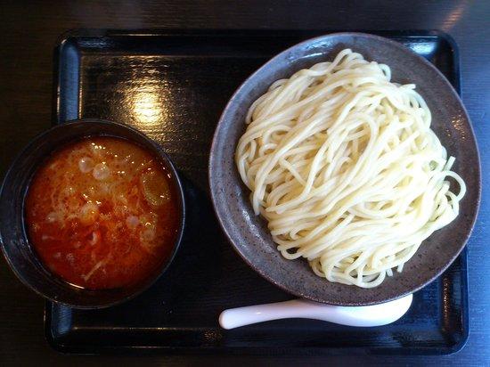 Mitsuyadoseimen: 辛しつけ麺中盛り880円