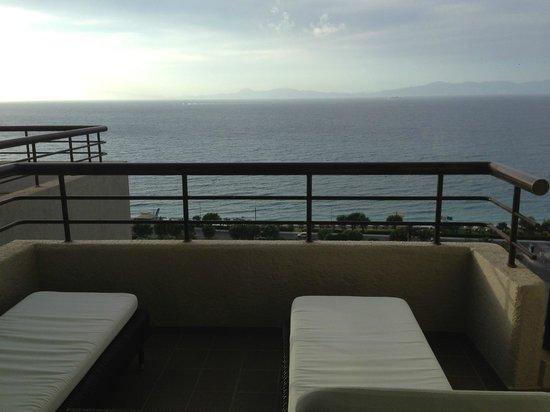 Sheraton Rhodes Resort : view from balcony