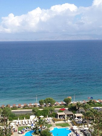 Sheraton Rhodes Resort : view from penthouse suite