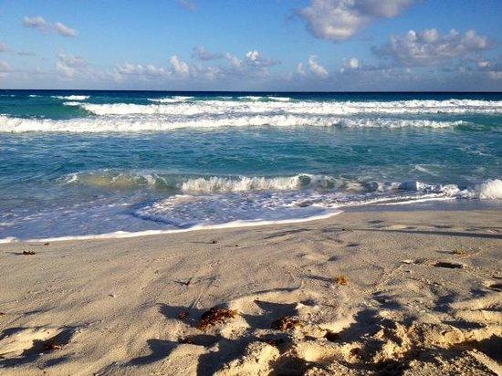 Playa Delfines : The beach