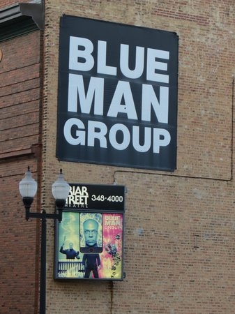 Blue Man Group- Chicago.