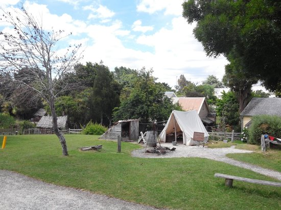 Howick Historical Village: scape inside