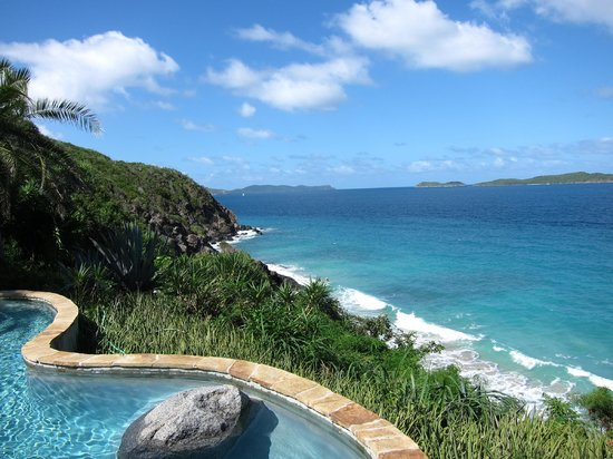 Rosewood Little Dix Bay: View from Spa