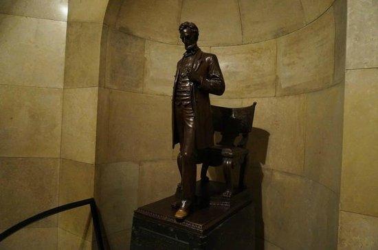 Lincoln Tomb & War Memorials: Lincolns Grabstätte