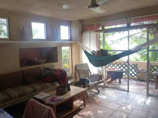 Sin Duda Villas: Relaxing in the hammock