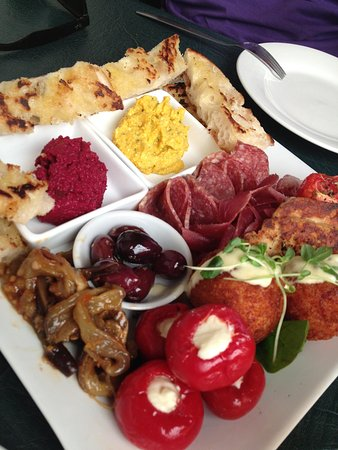 The Fig Tree: $25 tapas plate for two. Dec 2013
