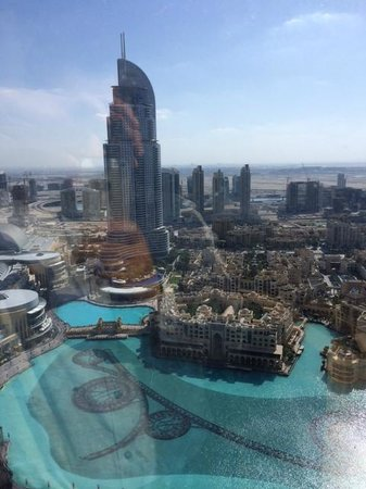 Armani Hotel Dubai: Dubai mall & Fountain view