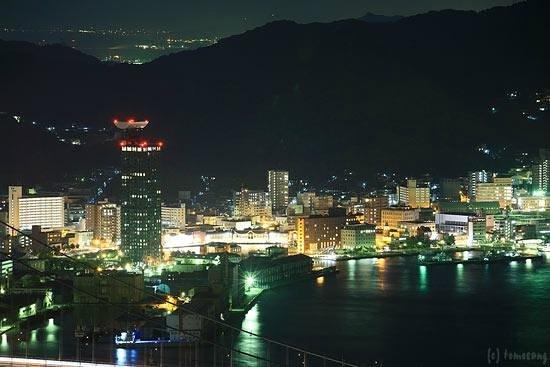 Hinoyama Park : 火の山公園からの夜景