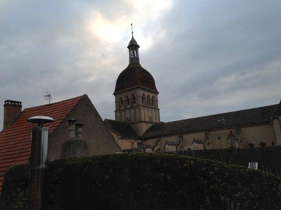 Abbaye de Maizières : window view