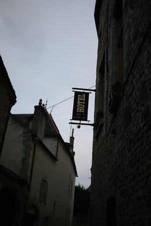 Abbaye de Maizières : Hotel sign