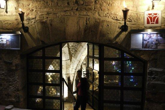 Abbaye de Maizieres: the Entrance