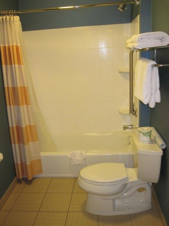 SpringHill Suites Corona Riverside : Bathroom