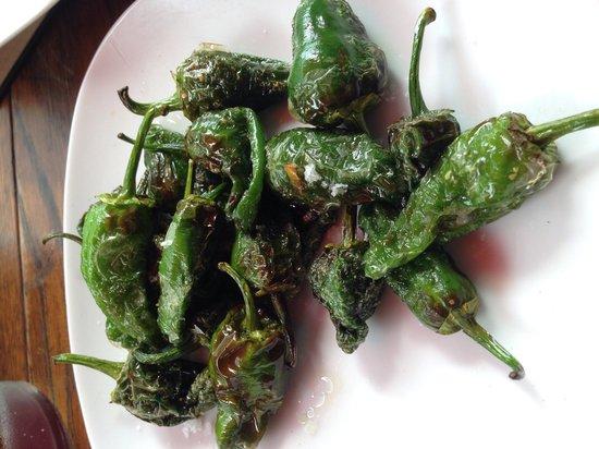 Piscolabis: Little green peppers