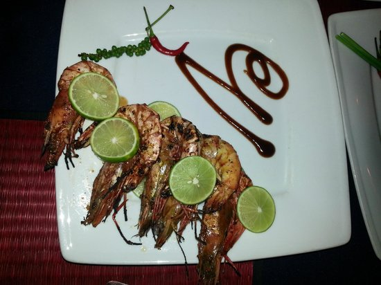 The Touich Restaurant Bar: BBQ Shrimp