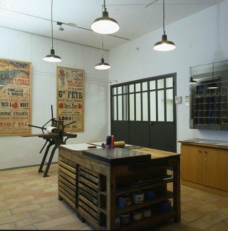 Musee des alpilles : Espace typographie