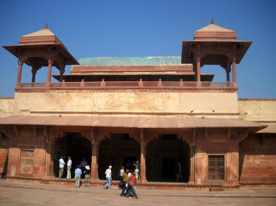 Fatehpur Sikri : Panch Mahal - Fatepur Sikri Agra