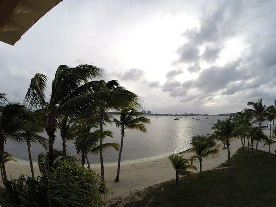 Le Flamboyant Hotel and Resort: vue lagon