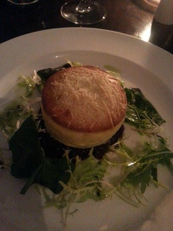 Fish on the Green: Cheese Souffle