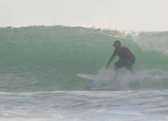 Club Surf Popoyo: A little cover from the sun late in the afternoon