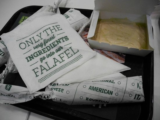 Just Falafel: nice