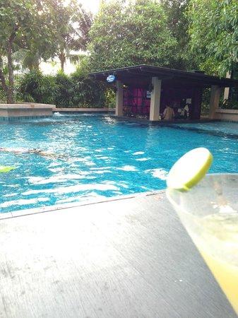 Novotel Phuket Kata Avista Resort and Spa: Bar pool