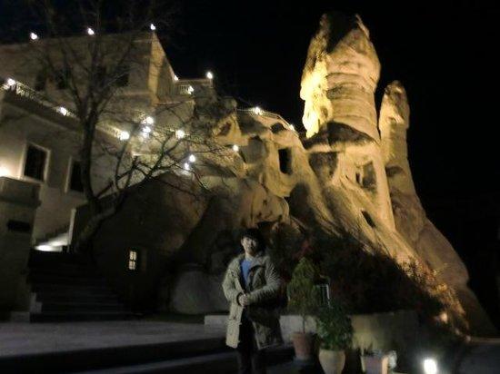 Goreme Kaya Hotel: ホテル外観