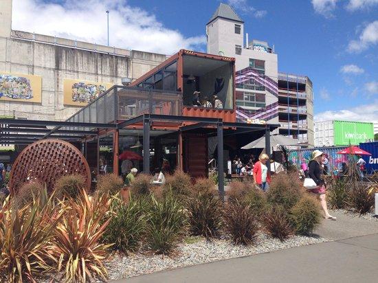 Christchurch Bike & WalkingTours : New Container City Center