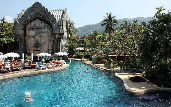 Phuket Orchid Resort & Spa: Phuket orchid resort main pool