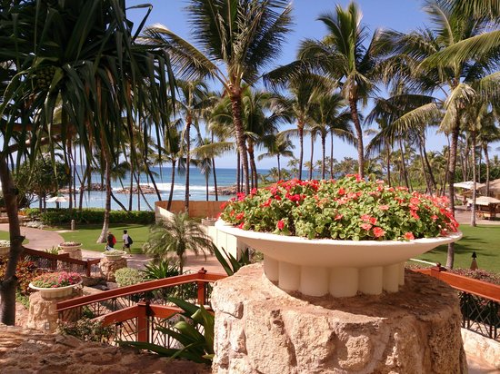 Marriott's Ko Olina Beach Club: エントランス付近
