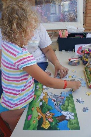Hydramis Palace Beach Resort: Занятия для деток