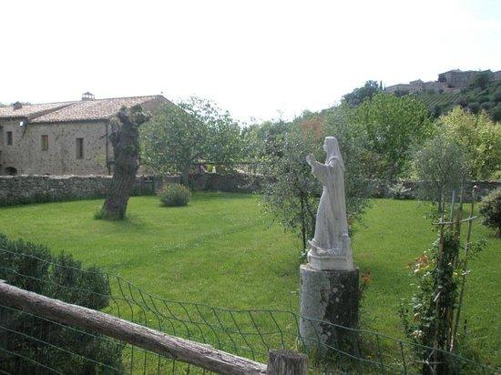 Abbazia di Sant'Antimo: Klostergarten