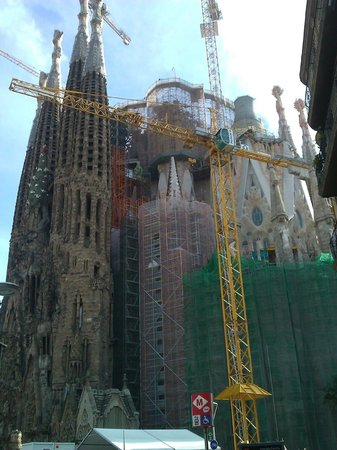 Ayre Hotel Rosellon: La Sagrada Família