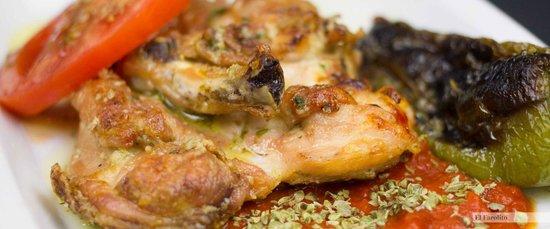El Farolito: El pollo.