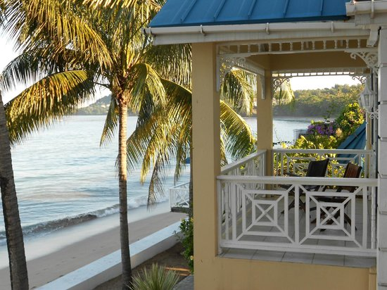Villa Beach Cottages : Great views for the Upper porches