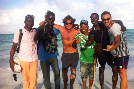 Dream of Zanzibar: I beach boys!