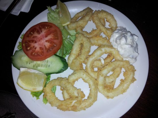 West End Kitchen : Fritto di calamari