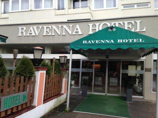 Novum Hotel Ravenna Berlin Steglitz : Hotelfront