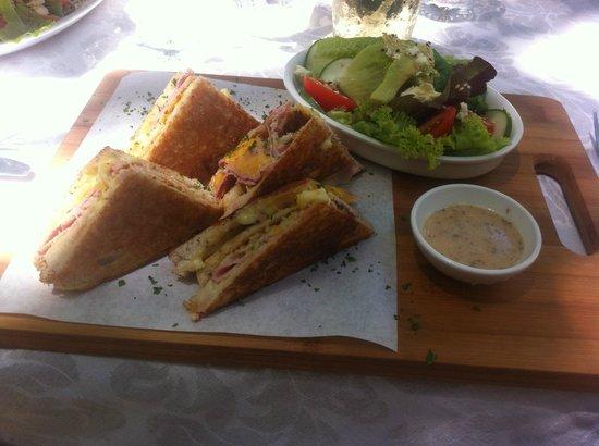Bayleaf Cafe: Croque Monsieur
