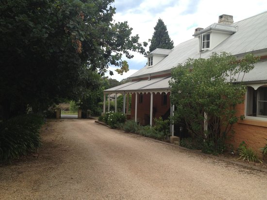 Fitzroy Inn. The grounds are as beautiful as the accommodation.