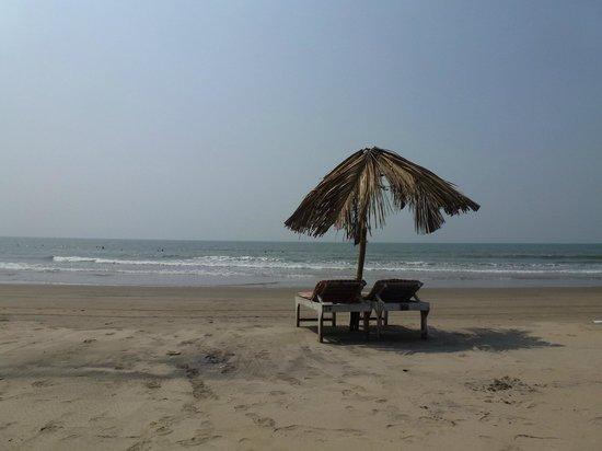 Mandrem Beach: пляж Мандрем