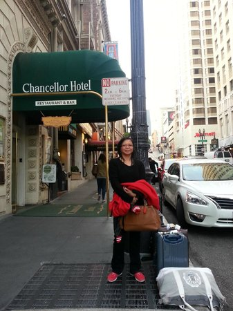 Chancellor Hotel on Union Square: Upon arrival