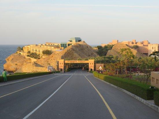Shangri La Barr Al Jissah Resort & Spa - Al Bandar Hotel : Hotel entry