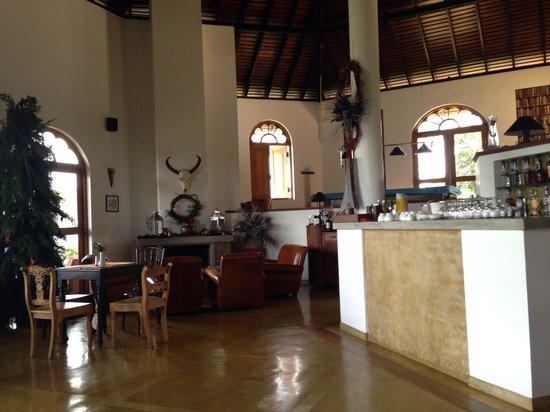 Madulkelle Tea and Eco Lodge: Restaurant hall