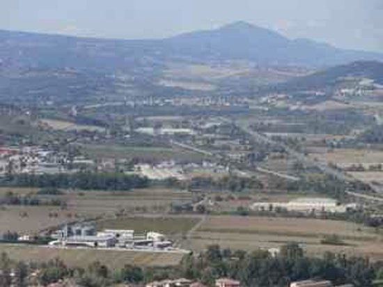Torre del Moro : Towards the autostrada - looking south east