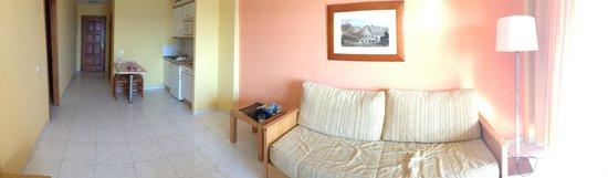 Suite Hotel Elba Castillo San Jorge & Antigua : panoramic view of our room
